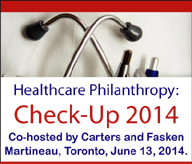 Carters/Fasken Martineau Healthcare Philanthropy: Check-Up 2014